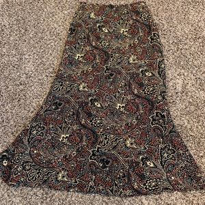 Harold's Skirts - Harold's silk skirt